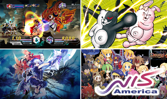 Battle Princess of Arcadias, Disgaea®4: A Promise Revisited, Danganronpa™ 2: Goodbye Despair and Fairy Fencer F™