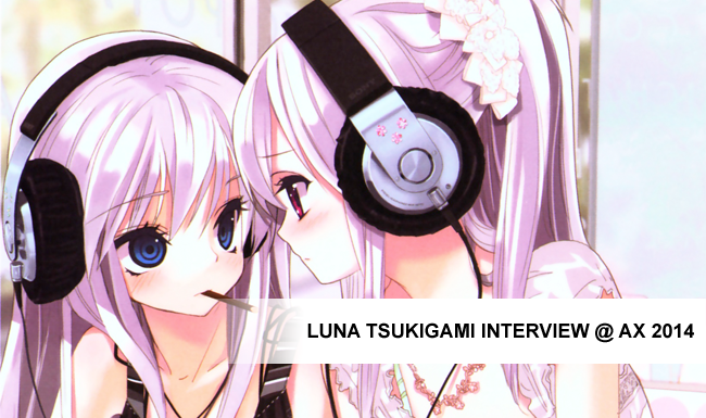 Luna Tsukigami Interview @ AX 2014