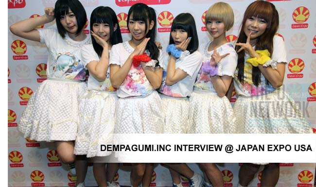 Dempagumi.inc Interview @ JX USA 2013