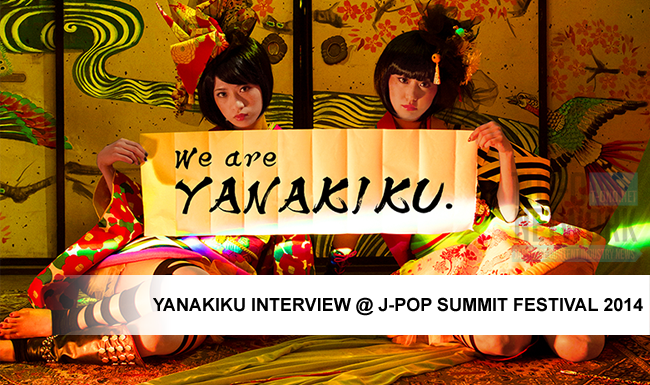 YANAKIKU Interview @ J-POP Summit 2014