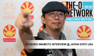 Tatsuro Iwamoto Interview @ Japan Expo USA 2013