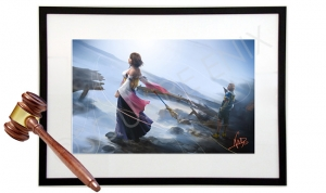 Final Fantasy X/X-2 Live Painting and Auction
