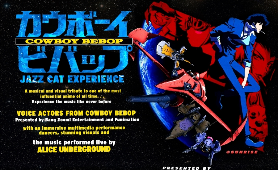 Cowboy Bebop Jazz Cat Experience @ Anime Expo 2016