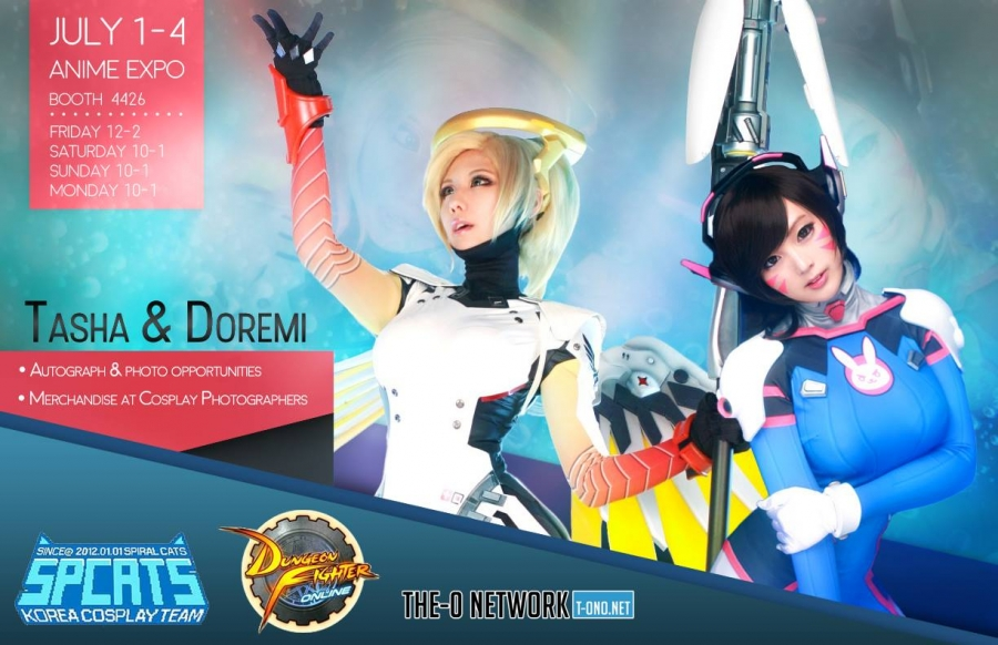 Spiral Cats Anime Expo 2016 Schedule