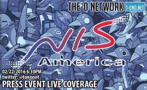 LIVE NIS America Press Event 2016 Coverage