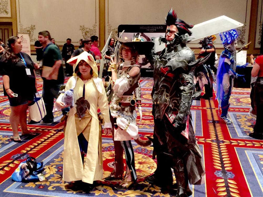 The-O Network - Final Fantasy XIV Fan Festival: Impression