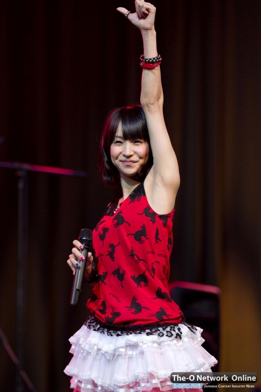 Click Image To Find More Men S Fashion: LiSA Interview @ Anime Expo 2012