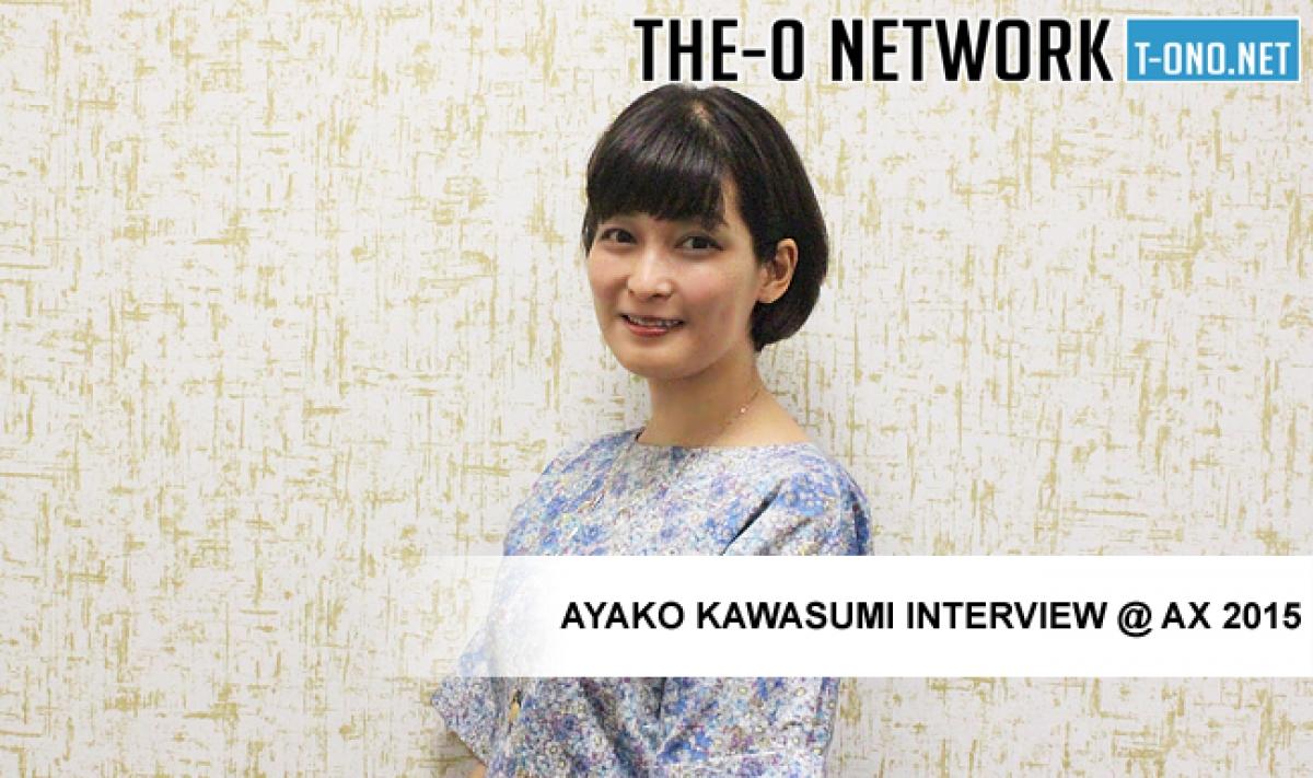 The-O Network - Ayako Kawasumi Interview @ Anime Expo 2015