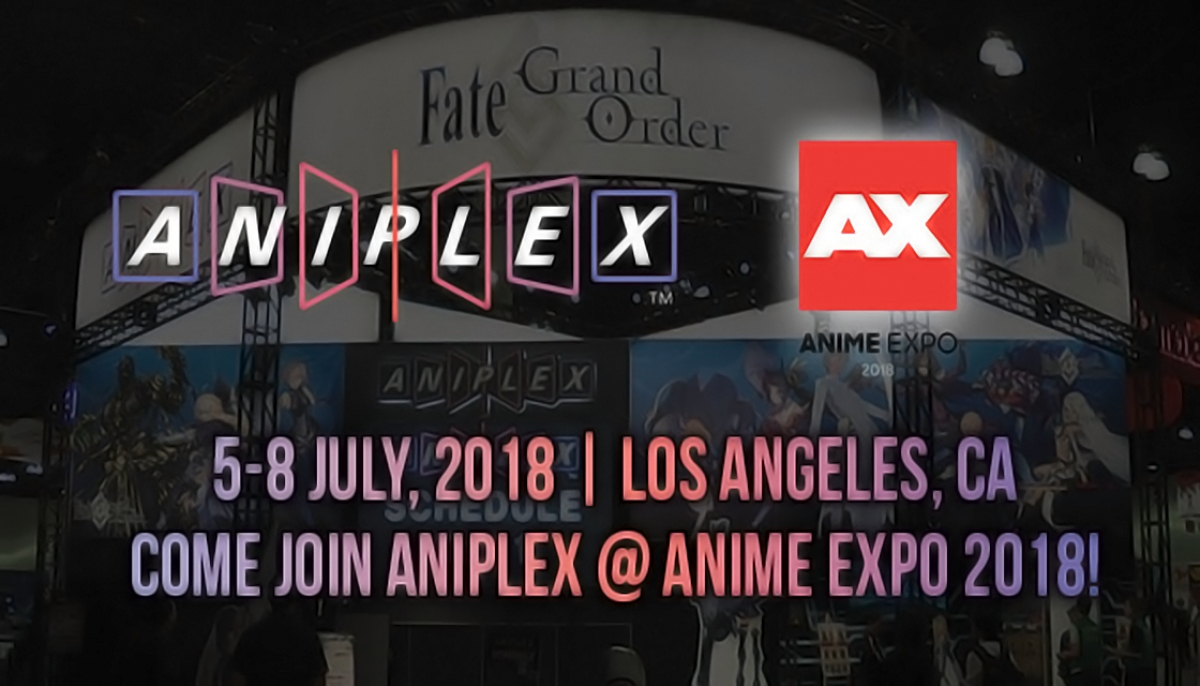 Anime Expo Stands : The o network ax 2018: aniplex usa events schedule